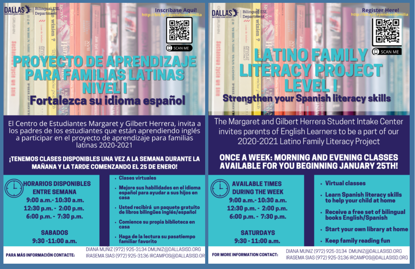 Latino Family Literacy Project Level 1