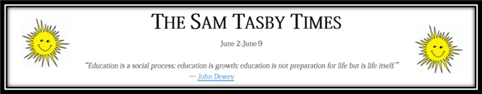 Tasby Times Newsletter