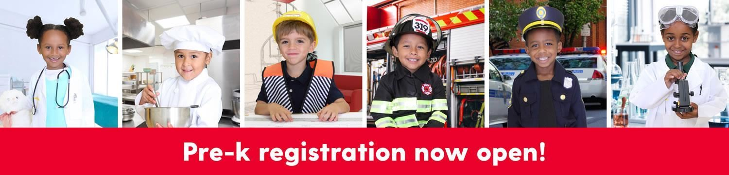 Pre-K Registration (Free and Tuition-based)