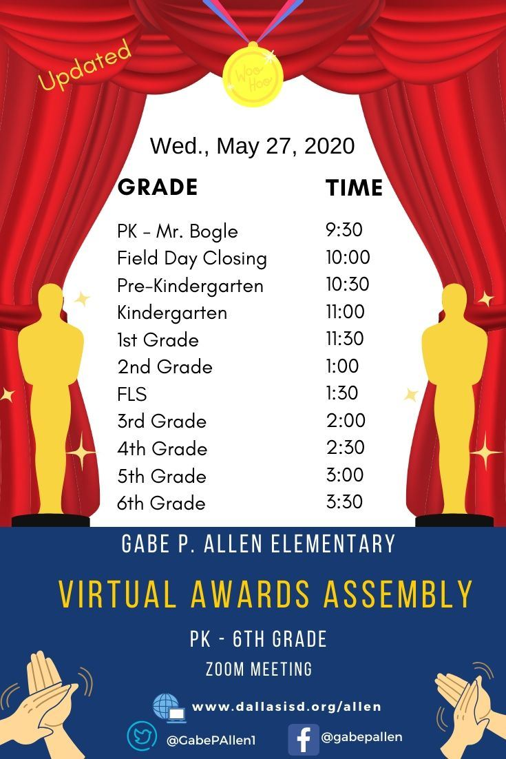 Virtual Awards Assembly