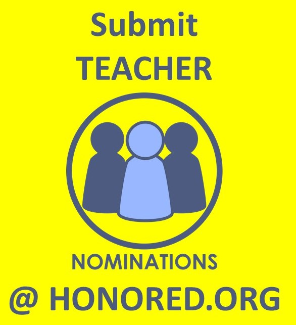 Nominate a Teacher for a $5,000 cash prize Today!