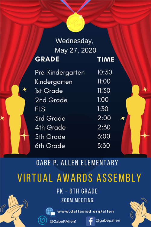 Virtual Awards Assembly 2020 eng