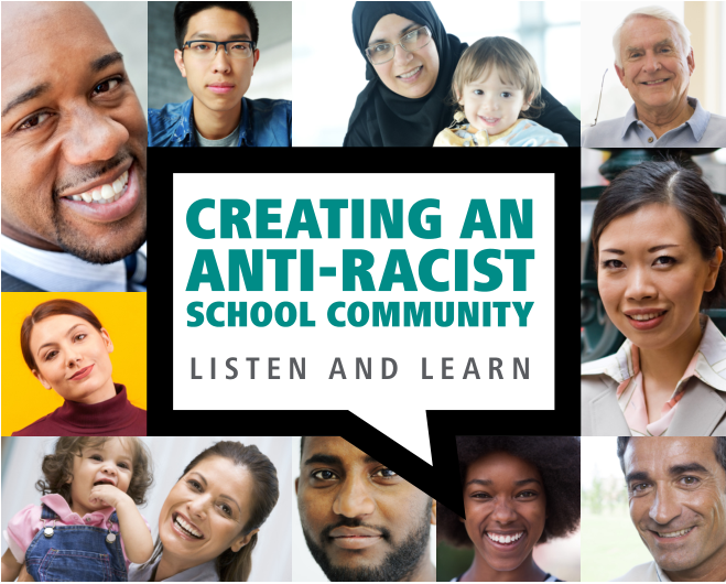 District webinar to focus on creating an anti-racist school community