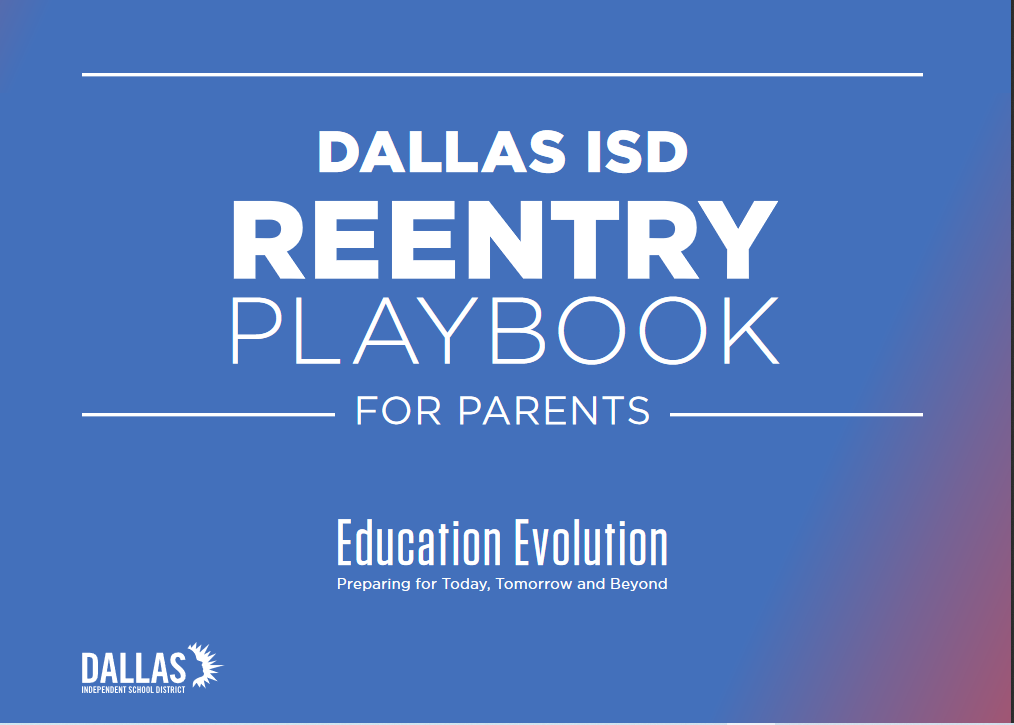 Re-Entry Playbook for Parents Available