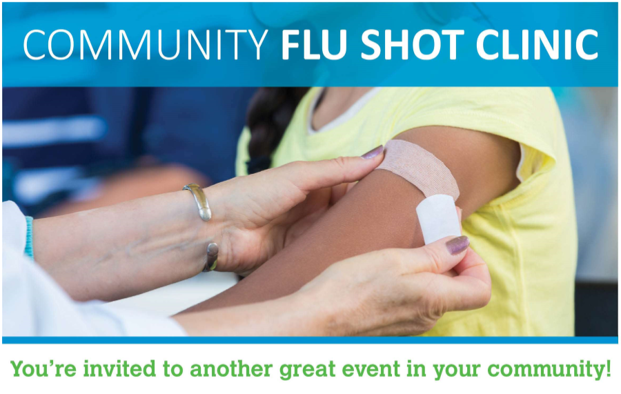Free Flue Shot Clinics in November & December