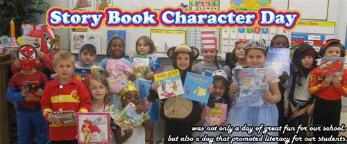 Character Book Day