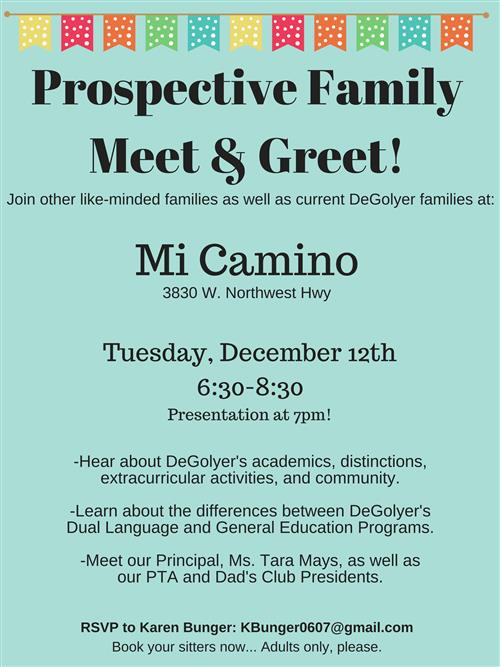 Prospective Family Meet and Greet