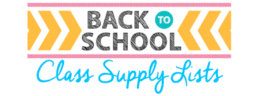 4th - 6th Grade Supply Lists