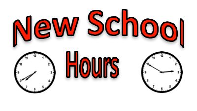 2019-2020 Updated School Hours