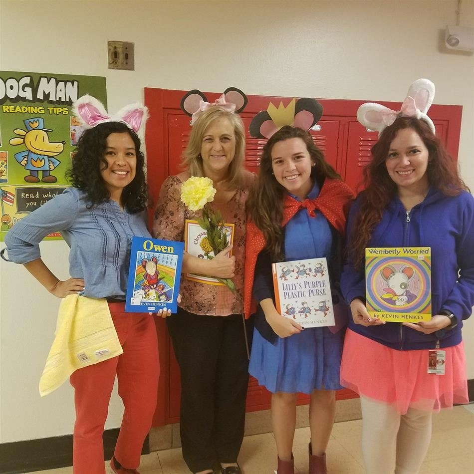 L.K. Hall Celebrates Literary Character Day