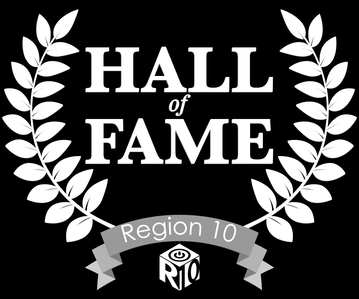 M.B. Henderson in Region 10 Hall of Fame