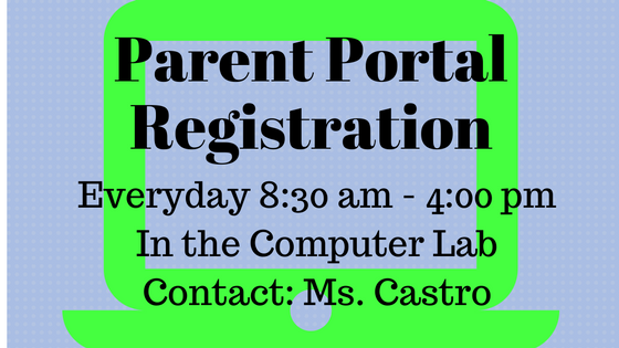 Parent Portal Registration