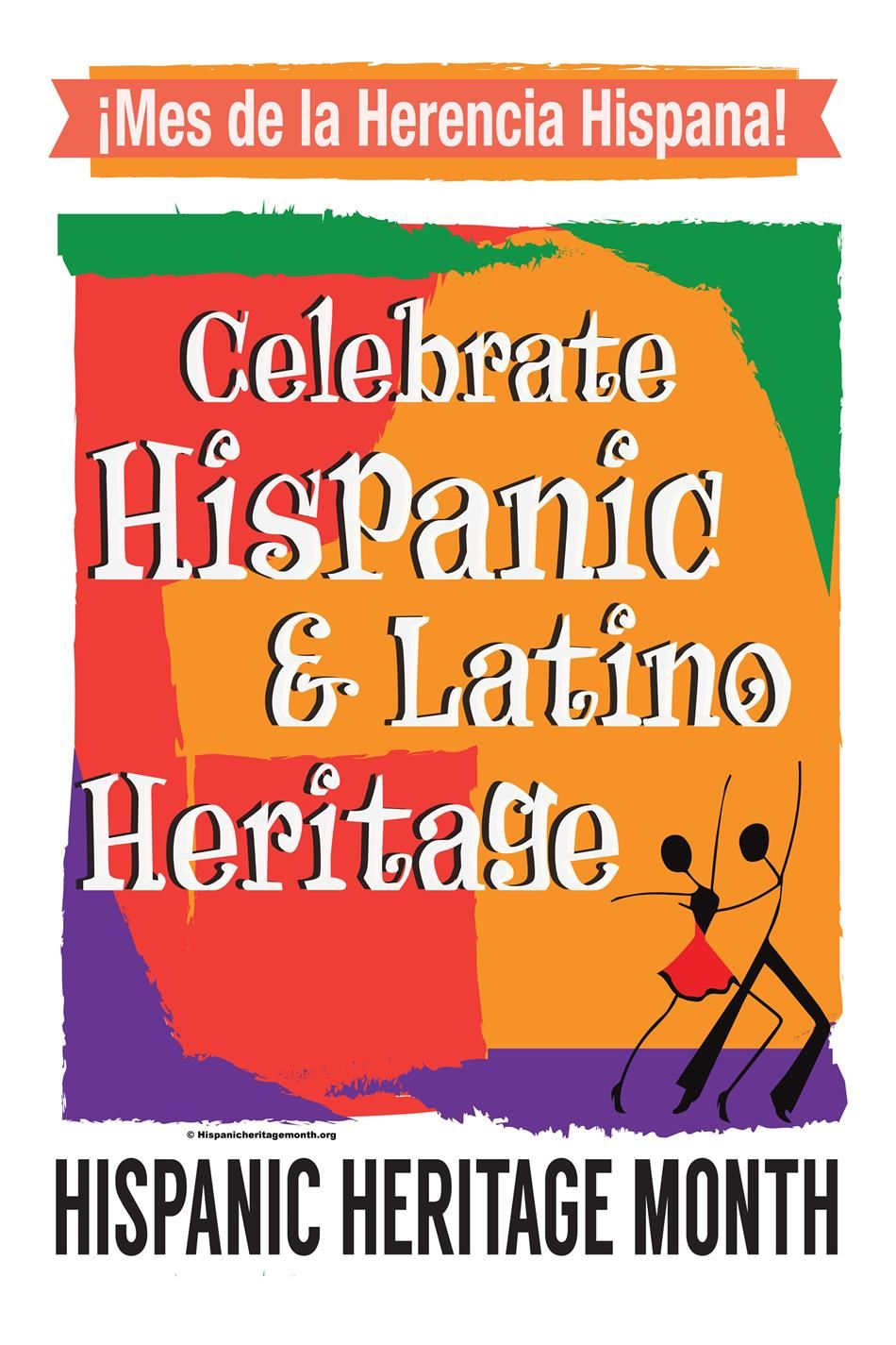 Hispanic Heritage Month Sept.15-Oct. 15th