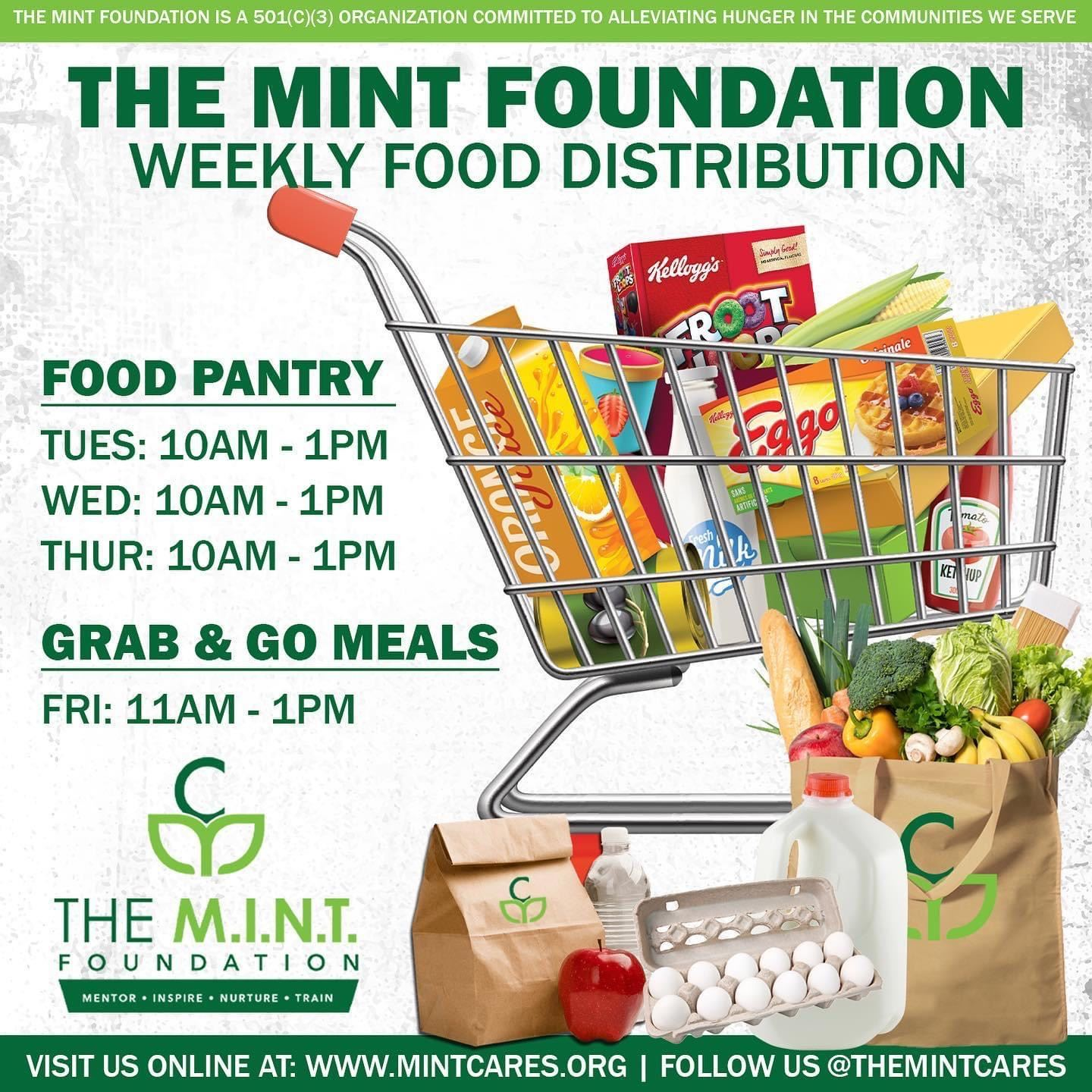 Mint Foundation Food Distribution