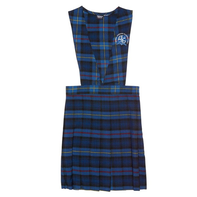 Optional plaid uniforms and crest shirts are available. Please click on link and scroll down.