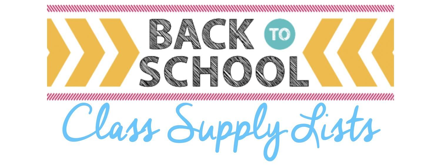 School Supply List/ Lista de �tiles Escolares