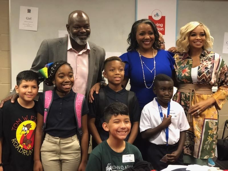 Back to School with Pat and Emmitt Smith