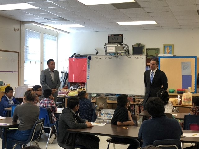 State Representative Meyer Visits Lipscomb