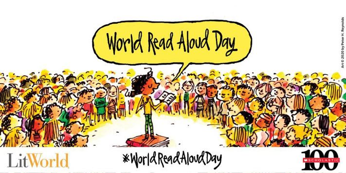 February 16th-WRAD (World Read Aloud Day)