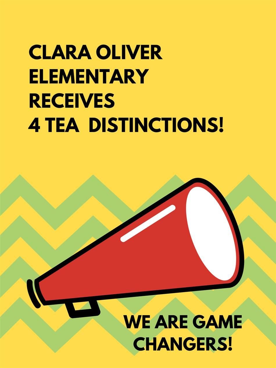 Four TEA Distinctions!
