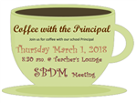 Coffee W/Principal SBDM Meeting