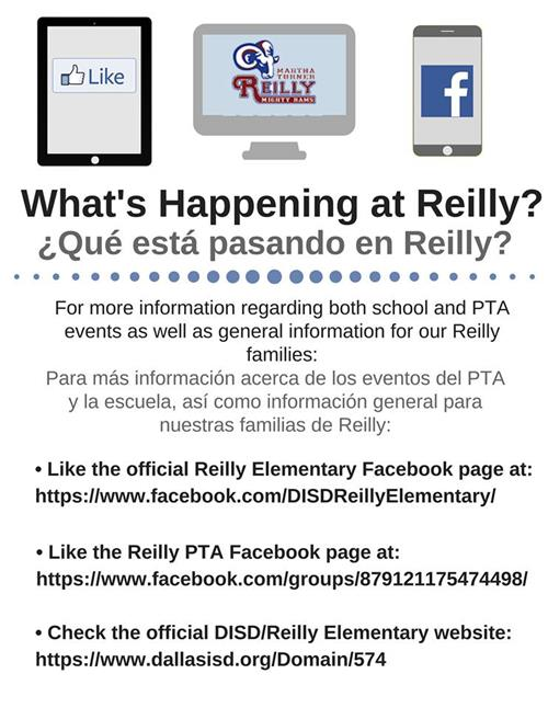 What's Happening at Reilly?