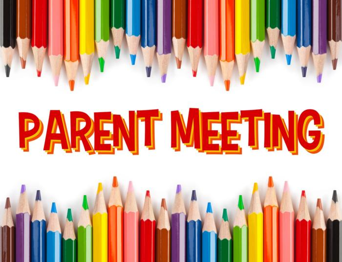 Parent Meeting every Thursday at 4 pm