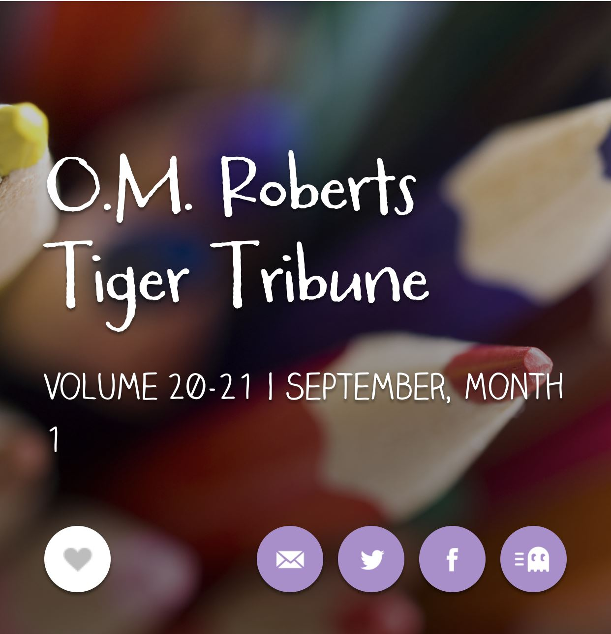 Stay in the LOOP! Bookmark our Tiger Tribune!