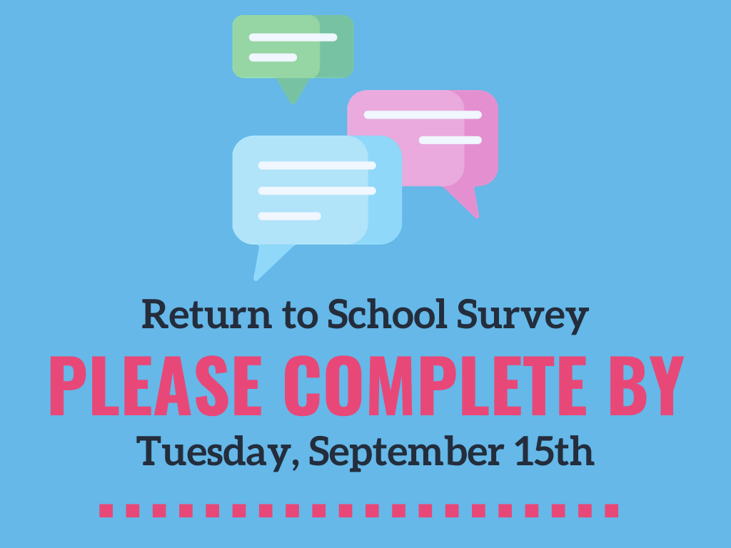 Return to School Survey