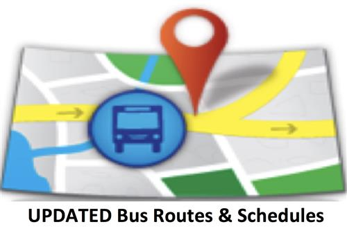 UPDATED Bus Routes & Schedules