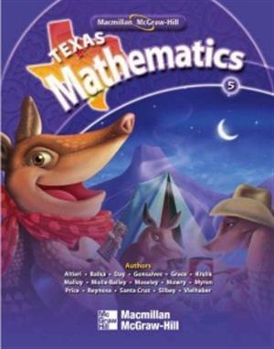 Texas Mathematics Grade 5