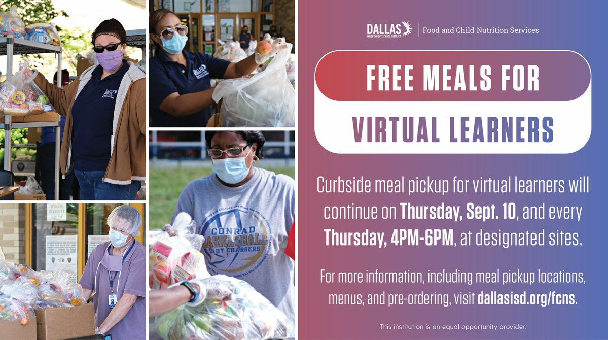 Virtual Grab-n-Go Meals | Click here for more information