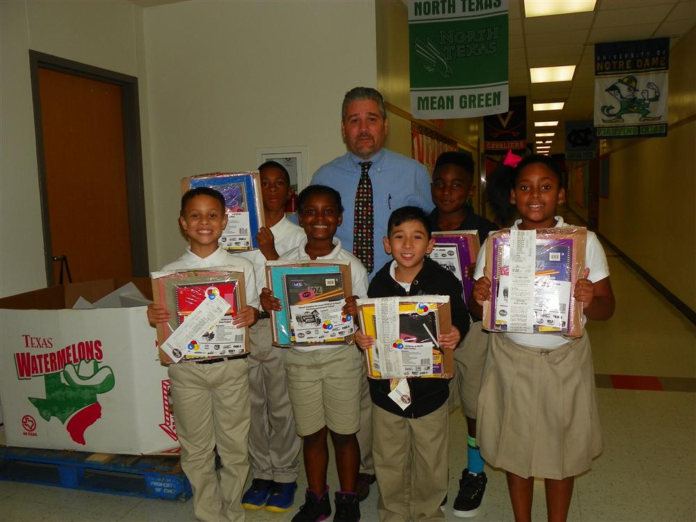 Donation Of School Supplies from Kroger