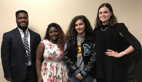 Teen Board Officers 2017-2018
