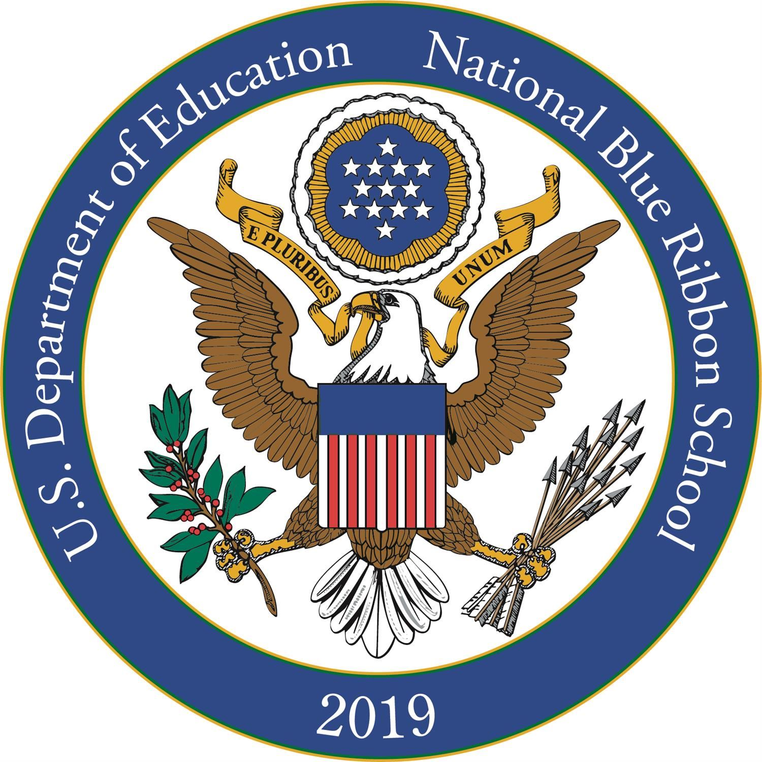 WHE is a 2019 National Blue Ribbon School!!