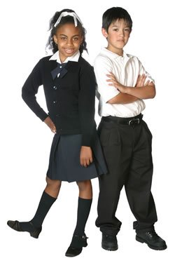 a report on mandatory school uniform Picture school uniforms from the past and the top hats and tails of tom brown's schooldays or the cheeky cap-throwing of just william may come to mind  why people can take years to report.