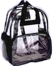 Clear/Mesh Backpack Policy
