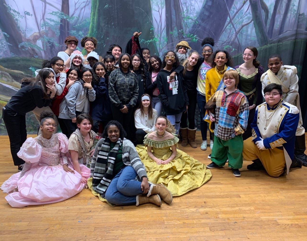 "Theater Production ""Into The Woods"""