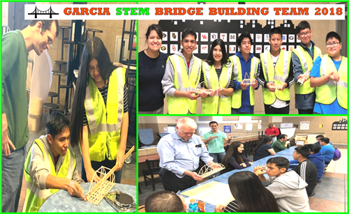 STEM Bridge Building Team 2018