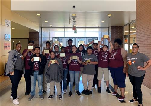 Our students won at the Dallas ISD Adaptive Robotics Competition 2019