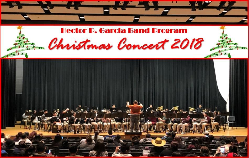 Band Program Christmas Concert 2018