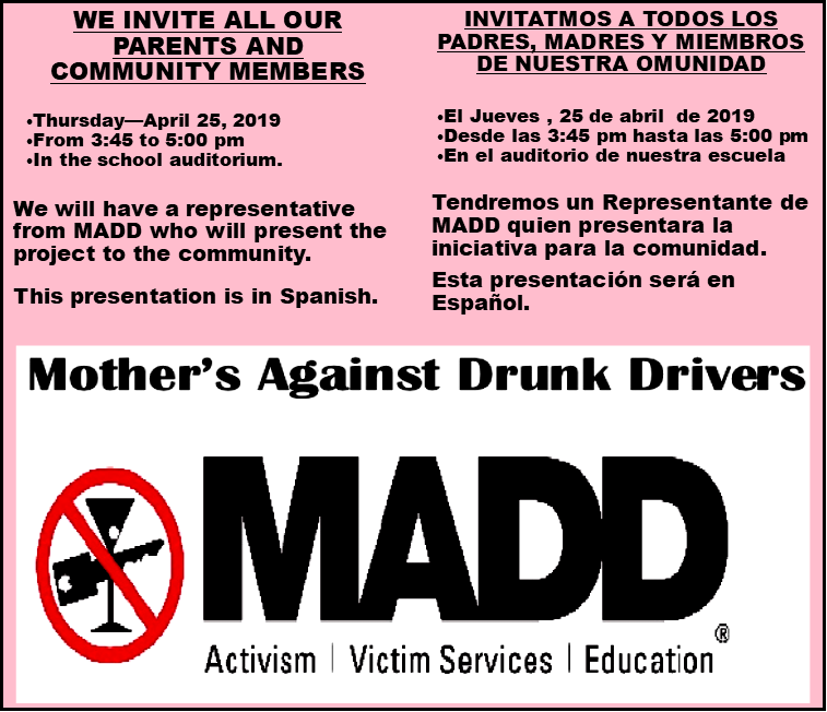 MAAD information session