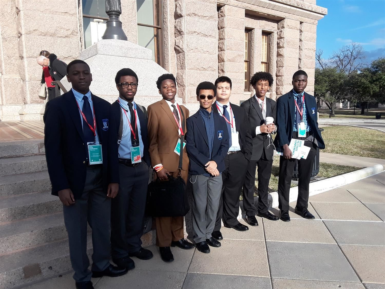 Bomla chapter of YMCA Youth and Government members leave their mark at the state conference in Austin this weekend January 24-27.
