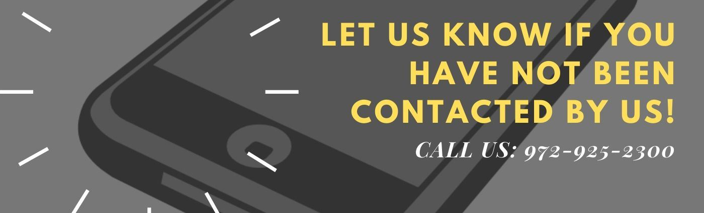 URGENT: GET IN CONTACT WITH US!