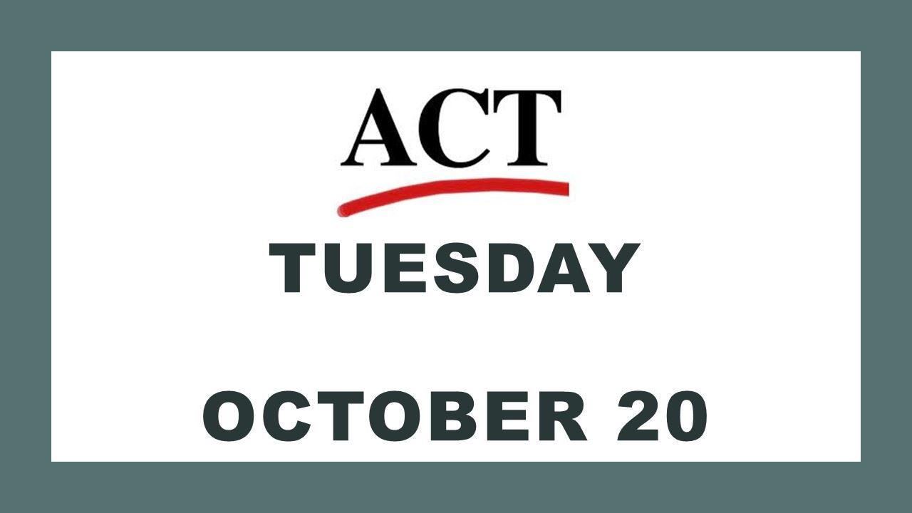 Click here to access ACT Room Assignments