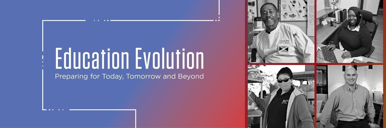 Click here to learn about Education Evolution