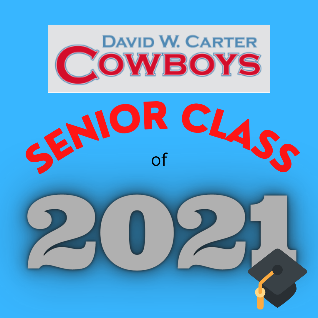 Senior Class of 2021 Announcements