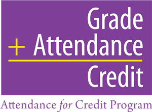 Attendance for Credit Classroom Code -  Everything you need to know is in the Google Classroom