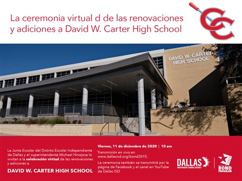 Carter Virtual Ribbon Cutting _Spanish