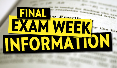 Fall 2017 Exam Schedule